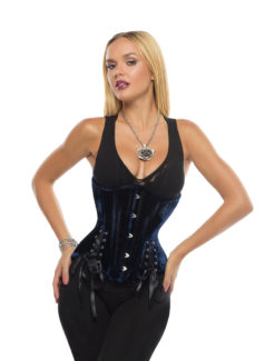 Lara Velvet Corset with Hip Ties