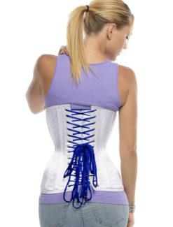 Lacios de corsé azul (cordones de corsé de repuesto)